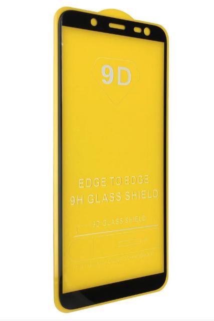Защитное стекло 9D полная проклейка Samsung Galaxy J6 2018 9H захисне скло