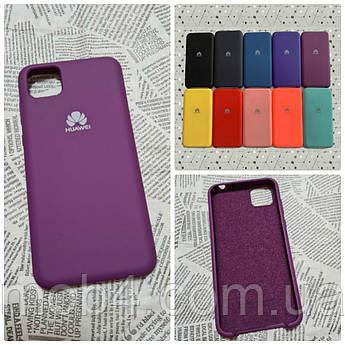 Брендовый чехол накладка Silicone Cover для Huawei (Хуавей) Y5P