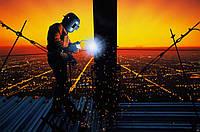 Монтаж металоконструкцій. Зварювальні роботи на висоті.