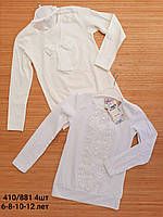 Школьная блуза для девочек 6-12 лет. Оптом.Турция.