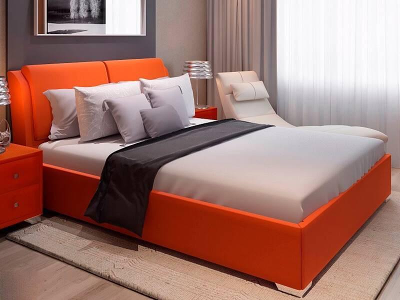 М'яке ліжко з механізмом Каліфорнія (будь-якого кольору і розміру)