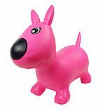 Прыгун собачка MS1592 розовый, фото 2