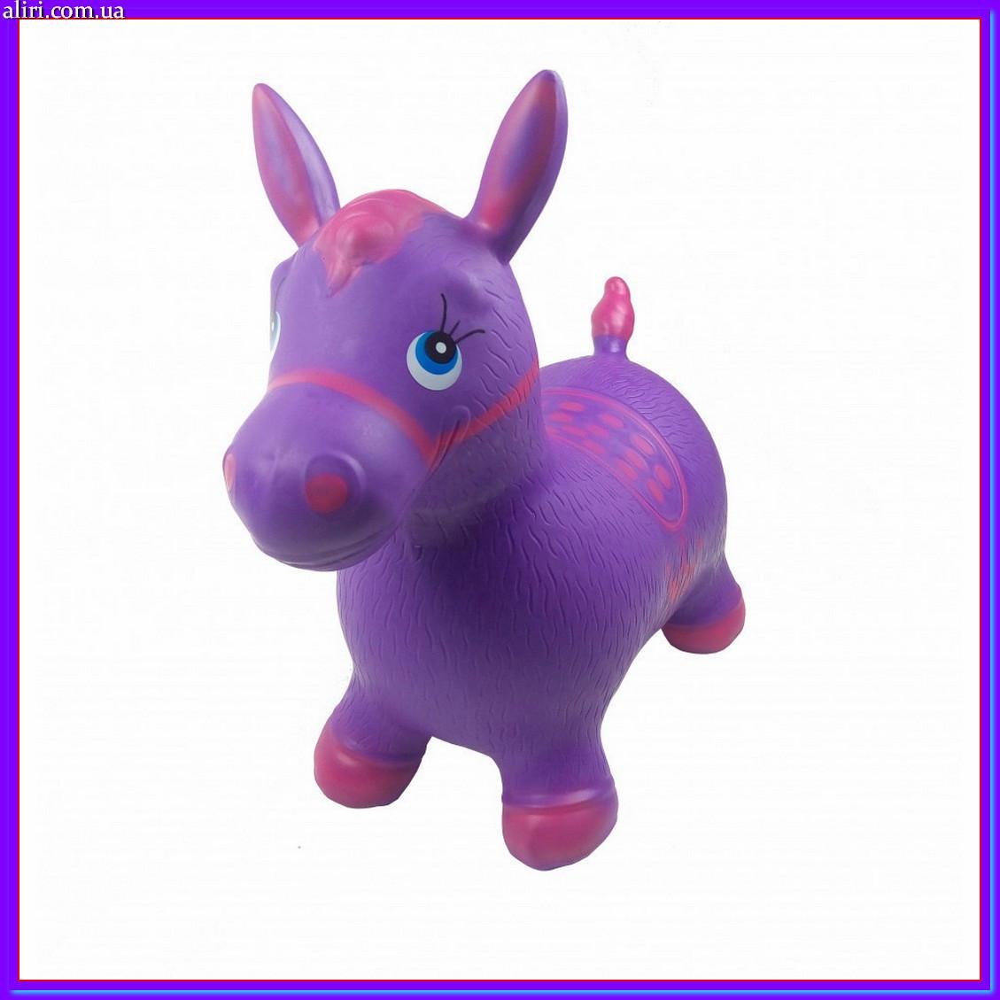 Прыгун-лошадка детская MS 0373 фиолетовый