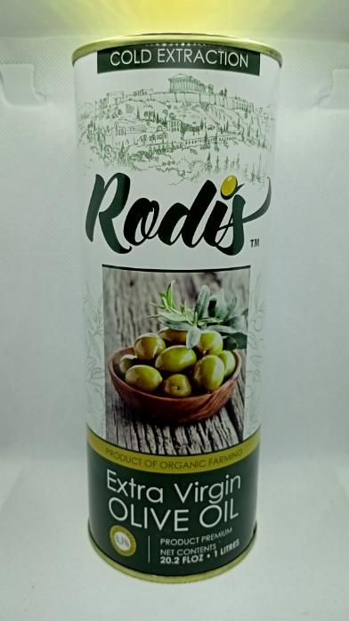 Оливковое масло EXTRA VIRGIN OLIVE OIL Rodis 1 л