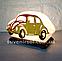 Соляной светильник Машина маленькая с цветной нашивкой, фото 2