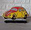 Соляной светильник Машина маленькая с цветной нашивкой, фото 3