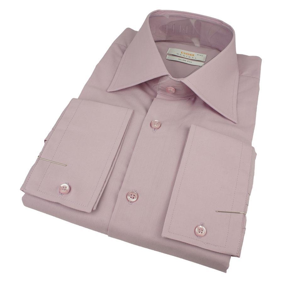Качественная хлопковая мужская рубашка Desibel 31164 Slim D