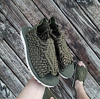 Хаки Зеленые шлепки босоножки шлепанцы тапки плетенки сандалии летние тапки