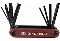 Мультитул BikeHand vz- F33 -077 Красный 8 в 1