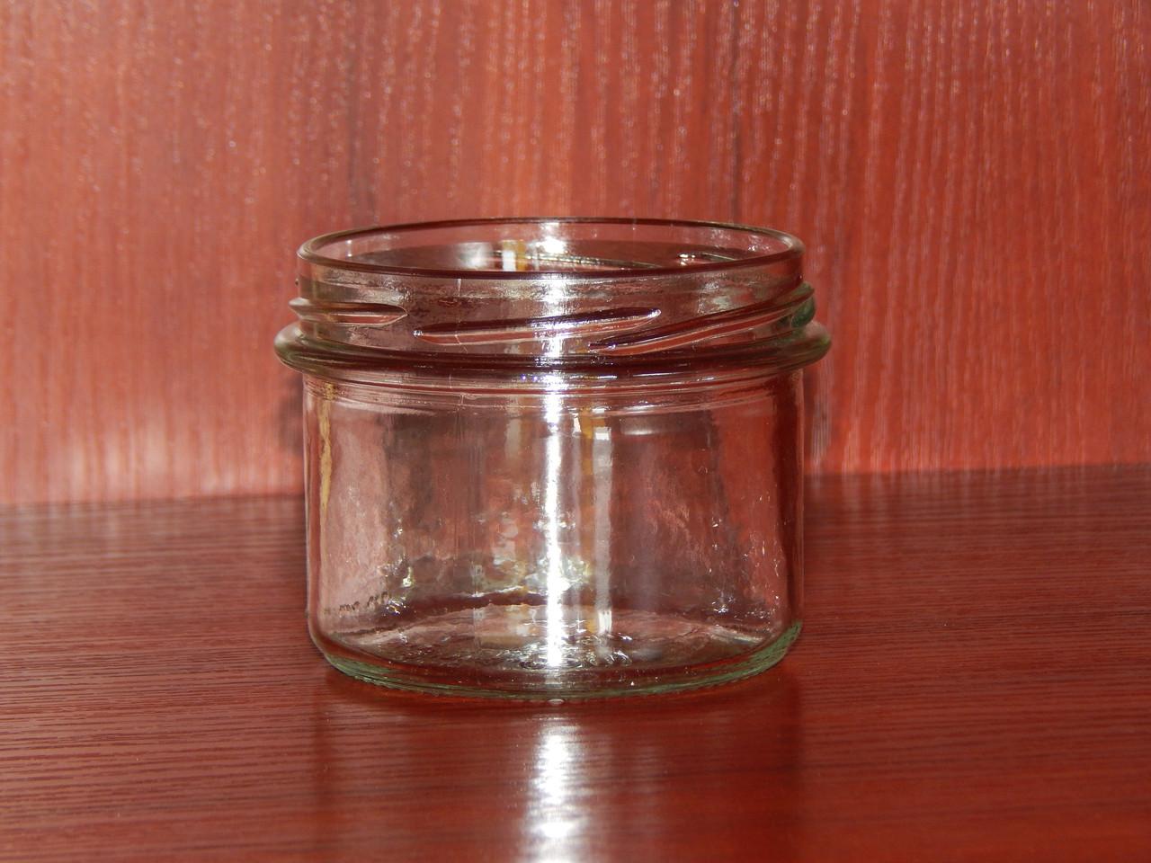 Банка стеклянная 235 мл с горловиной твист 82 мм (15 штук в упаковке)