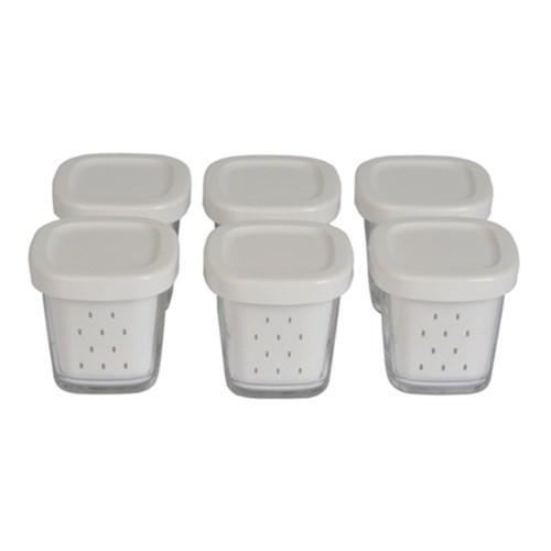 Набір банок (6шт) для йогуртниць Tefal, xf100032 XF100501