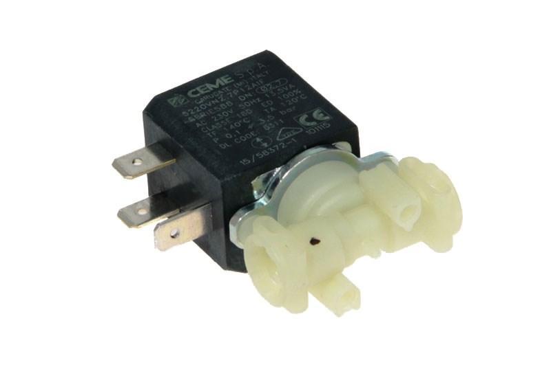Клапан электромагнитный (230в, 13,5ва) для кофеварки Delonghi 5220vn2,7p12aif, 5213218311