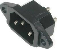 Роз'єм мережевого кабелю мультиварки Tefal, SS-993080