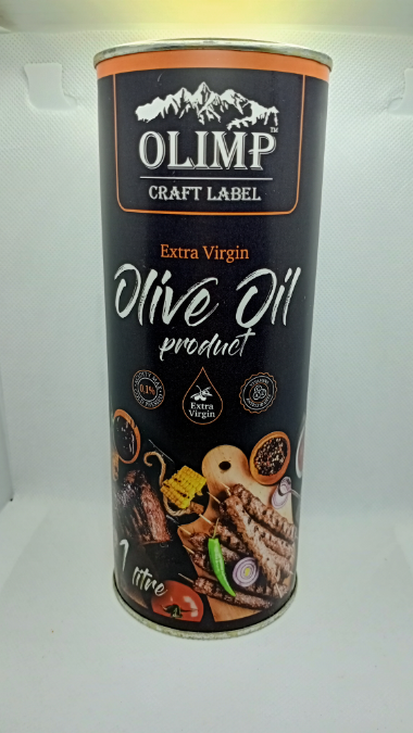 Оливковое масло EXTRA VIRGIN OLIVE OIL Olimp Craft meat 1 л