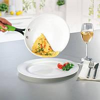 Сковородка керамическая  Biolux kerama, Биолюкс Керама 24 см. +стеклянная крышка