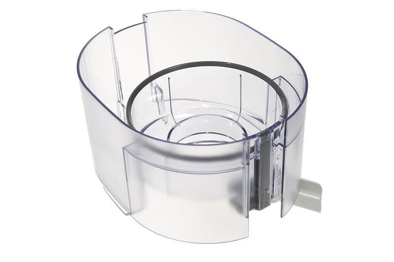 Контейнер для мякоти белый для насадки соковыжималки к кухонному комбайну Braun, 7322010584