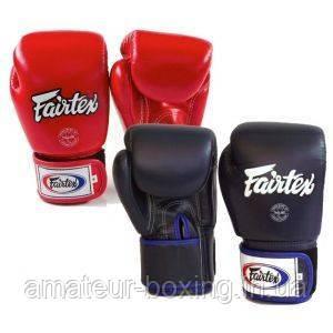 Боксерские перчатки Fairtex BGV1 Blue/Red 14 унций