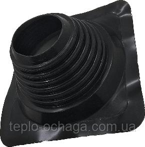 Кровельный проход Мастер Флеш 100-180 мм прямой черный, фото 2