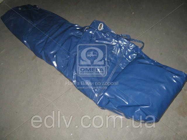 Тент старого образца под верёвку ГАЗ 3302 толстый. цвет синий  3302-6002020