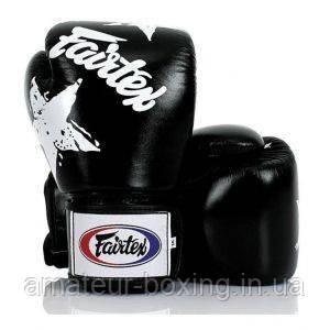 Перчатки боксерские Fairtex BGV1 Black Nation 10 унций