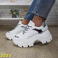 Женские кроссовки на платформе, хит продаж, sp 2231, фото 1