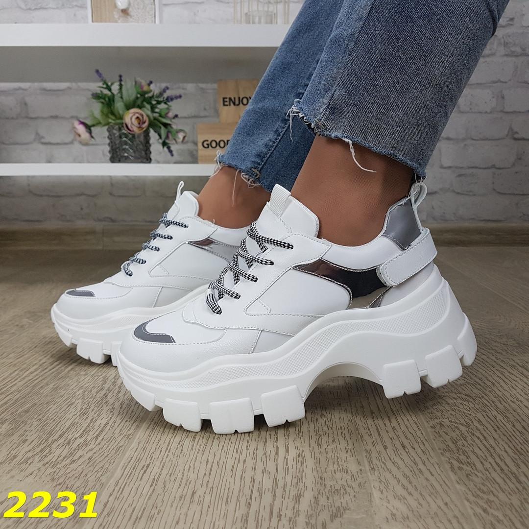 Женские кроссовки на платформе, хит продаж, sp 2231
