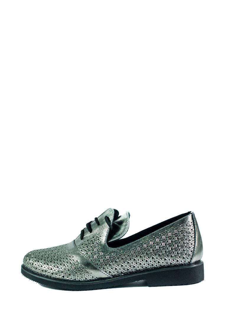 Туфли женские Ilona СФ 263-L10 серебряные (36)