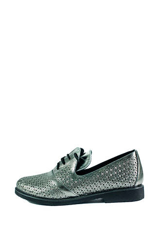 Туфли женские Ilona СФ 263-L10 серебряные (36), фото 2