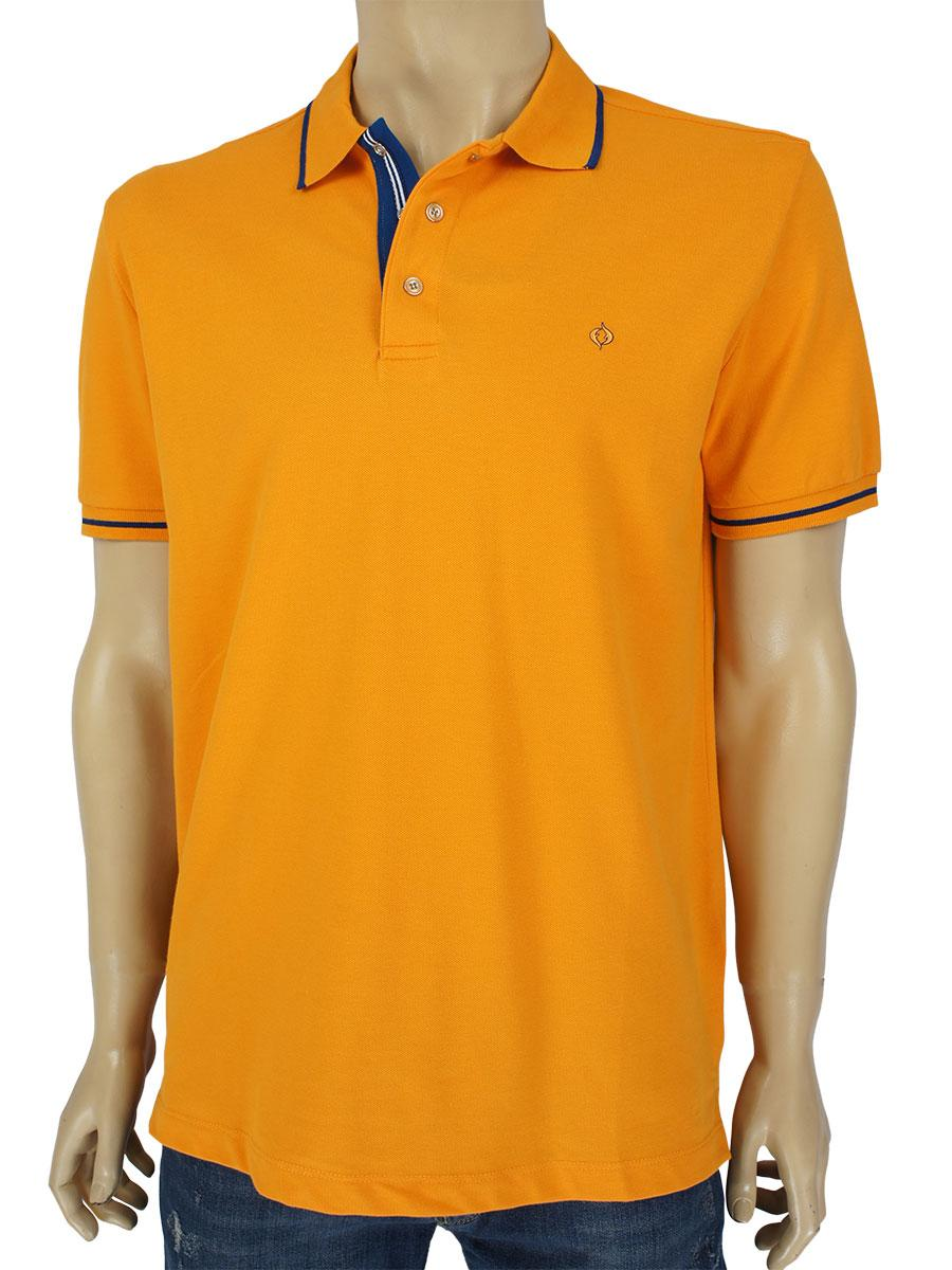 Яскрава чоловіча тениска Fabiani 22201 Oranj