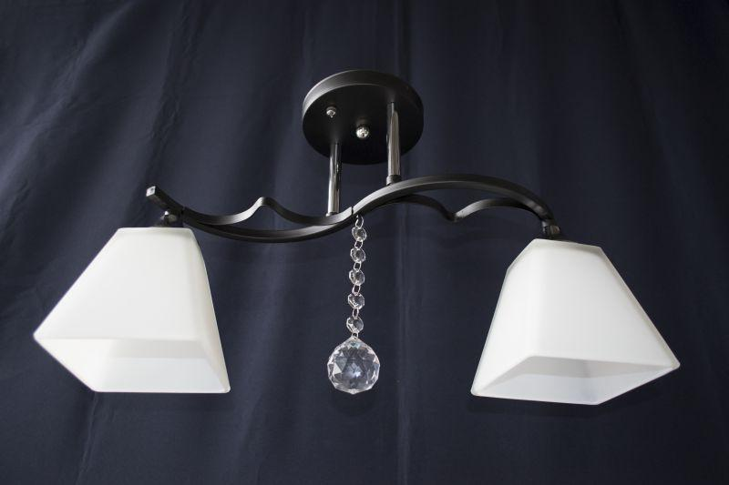 Люстра потолочная на 2 лампочки 3826-2