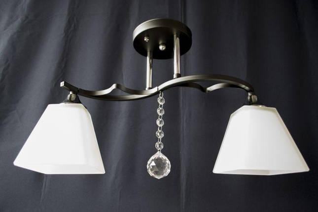 Люстра потолочная на 2 лампочки 3826-2, фото 2