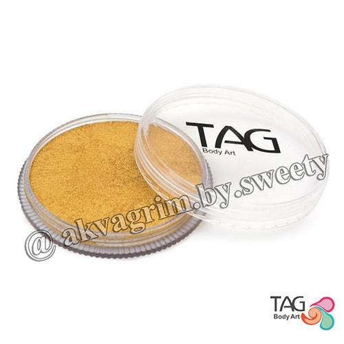 Аквагрим TAG Перламутровый Золото 32g