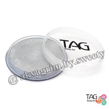 Аквагрим TAG Перламутровий Срібло 32g
