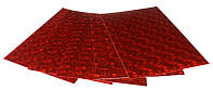 Фоамиран A4 голографический Красный HL-EVA-001, 21х29,7см толщина 1,8мм 5листов Fresh