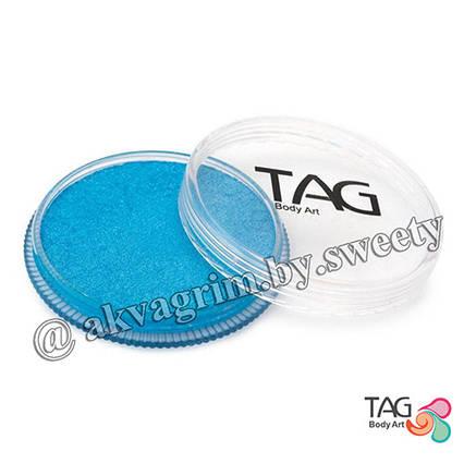 Аквагрим TAG Перламутровый Голубой 32g