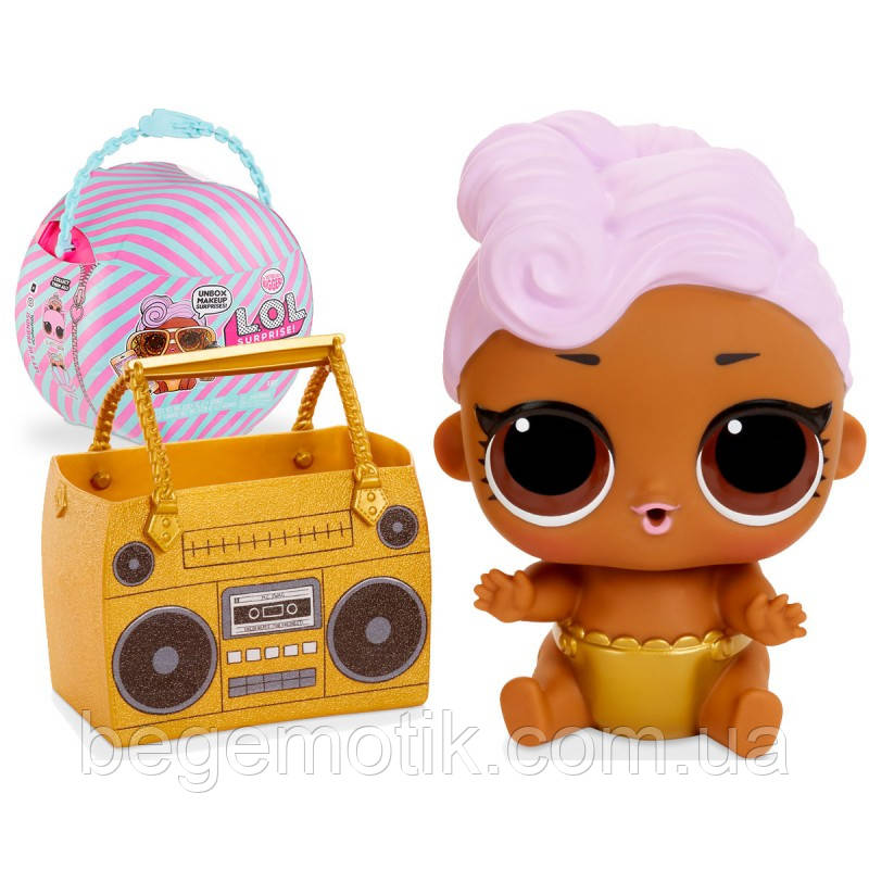 Набор ОЛАЛА с куклой ЛОЛ Диджей ( Мини дива)  Ooh La La Baby Surprise Lil D.J.  MGA