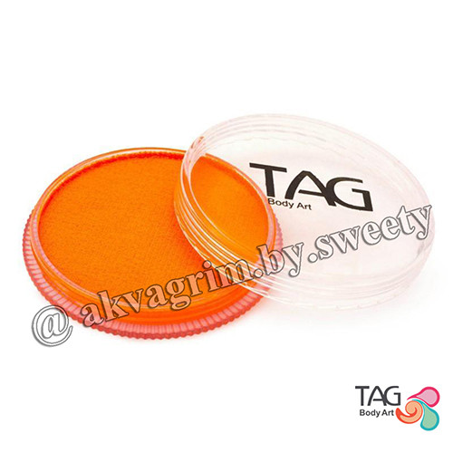 Аквагрим TAG Неоновый Оранжевый 32g
