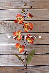 Искусственные цветы - Орхидея ветка, 68 см