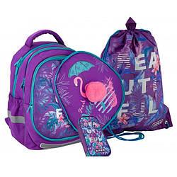 Набор Kite Beautif, Рюкзак, сумка и пенал