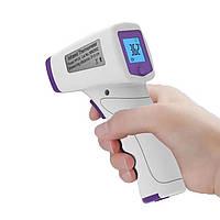 Безконтактный инфракрасный термометр Infrared BSX815 для детей и взрослых + батарейки Фиолетовый