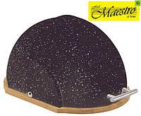 Хлебница Maestro с откидной крышкой MR-1678G