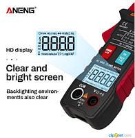 ANENG ST203 Клещи токоизмерительные, цифровой мультиметр, зажим