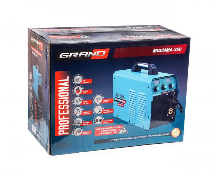 Полуавтомат Grand MIG-ММА-360 (дисплей)