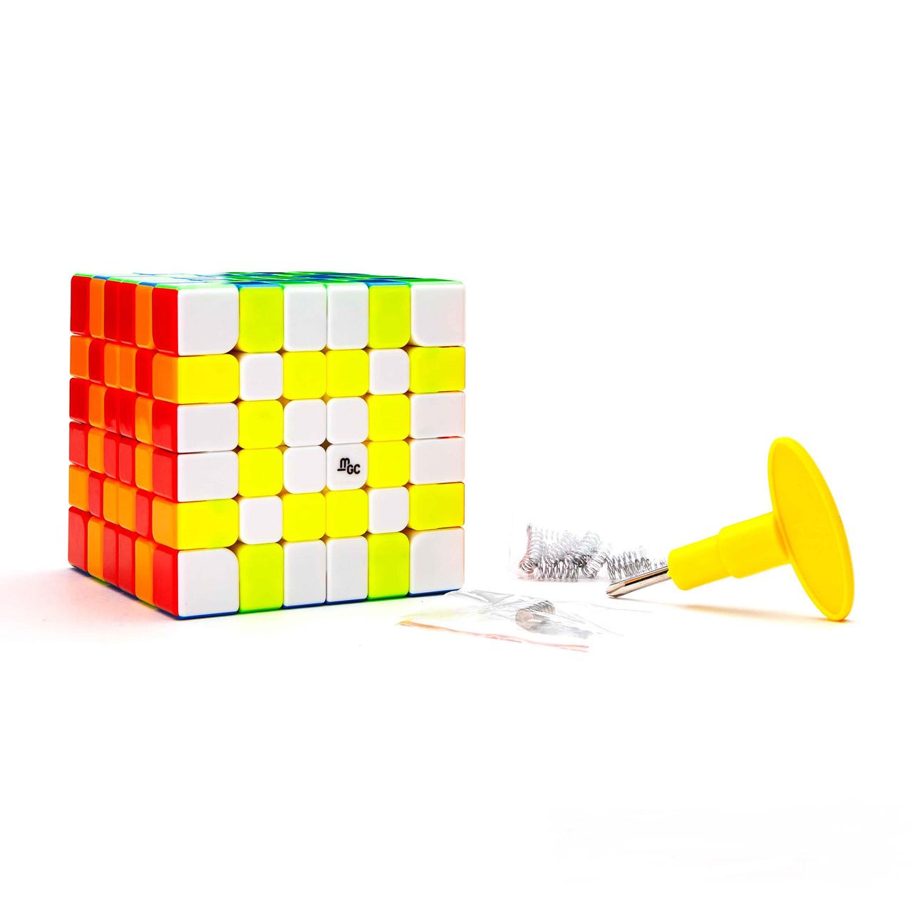 Кубик Рубіка 6х6 MGC Magnetic (без наклейок) (MoYu)