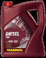 Моторное масло MANNOL DIESEL TDI  5W-30 API SN/SM/CF 5л.