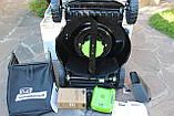 Мощная самоходная аккумуляторная  газонокосилка GreenWorks GD80LM51SP Pro 80V 51 см бесщёточная с АКБ 4Ач и ЗУ, фото 6