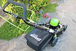 Мощная самоходная аккумуляторная  газонокосилка GreenWorks GD80LM51SP Pro 80V 51 см бесщёточная с АКБ 4Ач и ЗУ, фото 4