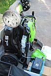 Мощная самоходная аккумуляторная  газонокосилка GreenWorks GD80LM51SP Pro 80V 51 см бесщёточная с АКБ 4Ач и ЗУ, фото 7