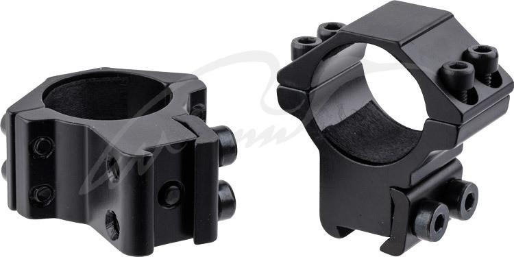 "Кольца Beeman FTMA011. d - 25.4 мм. Medium. ""Ласточкин хвост"""