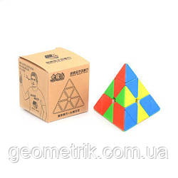 Пирамидка Рубика Little Magic pyraminx (без наклеек) YuXin